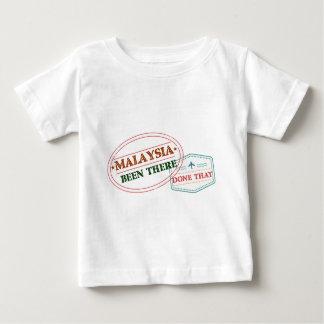 Camiseta Para Bebê Malaysia feito lá isso
