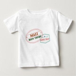 Camiseta Para Bebê Mali feito lá isso