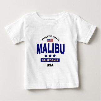 Camiseta Para Bebê Malibu Califórnia