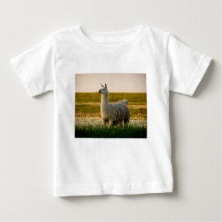 Camiseta Para Bebê Mama do lama da pradaria