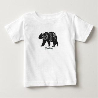Camiseta Para Bebê Mamães & mim do Tshirt do urso do bebê parte