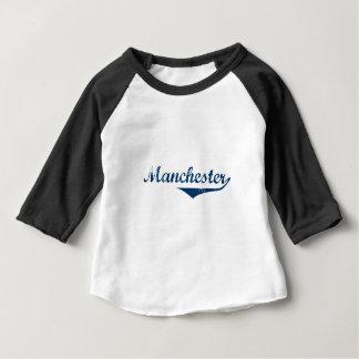 Camiseta Para Bebê Manchester