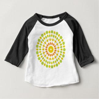 Camiseta Para Bebê Mandala do citrino