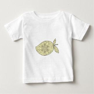 Camiseta Para Bebê Mandala suculenta da fruta da manga