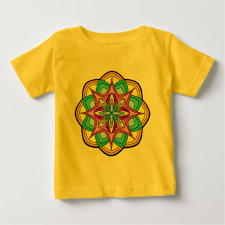 Camiseta Para Bebê Mandalas