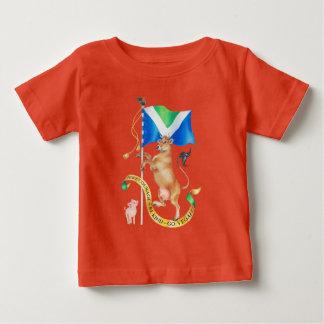 Camiseta Para Bebê Mande a coragem ser amável vão vegan