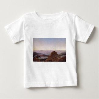 Camiseta Para Bebê Manhã em Riesengebirge - Caspar David Friedrich