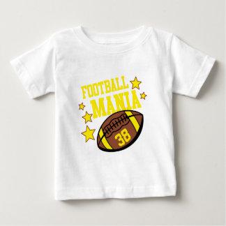 Camiseta Para Bebê mania do futebol