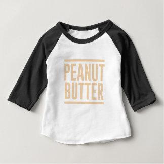 Camiseta Para Bebê Manteiga de amendoim