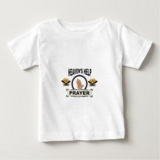 Camiseta Para Bebê mãos da ajuda e da oração