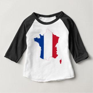 Camiseta Para Bebê map-of-france-1290790