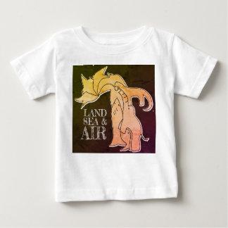 Camiseta Para Bebê Mar da terra & ar - t-shirt do miúdo - néon