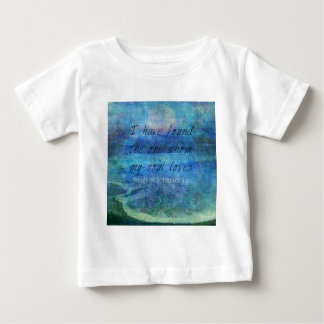 Camiseta Para Bebê Mar do oceano da escritura da arte do verso da