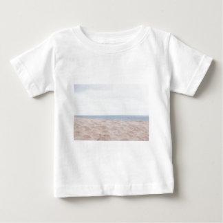 Camiseta Para Bebê Mar e areia