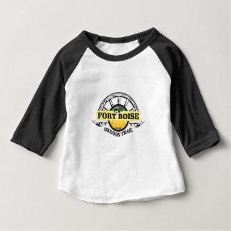 Camiseta Para Bebê marcador amarelo de boise do forte