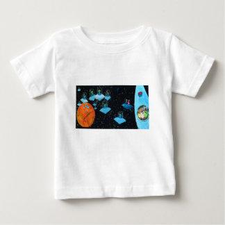 Camiseta Para Bebê Marciano Perturbed e algumas vacas