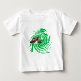 Camiseta Para Bebê Mares infinitos