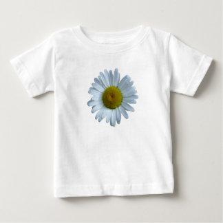 Camiseta Para Bebê Margarida branca