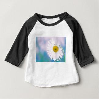 Camiseta Para Bebê Margarida curvada