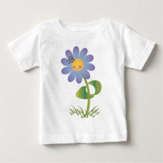 Camiseta Para Bebê Margarida de sorriso do KRW