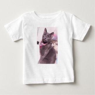 Camiseta Para Bebê Margarida o gato