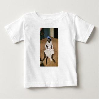 Camiseta Para Bebê Margarida preguiçosa