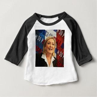 Camiseta Para Bebê Marine Le Pen