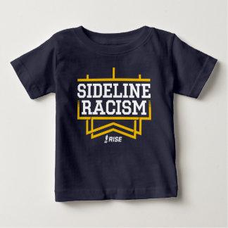 Camiseta Para Bebê Marinho/amarelo do bebê do t-shirt do racismo da