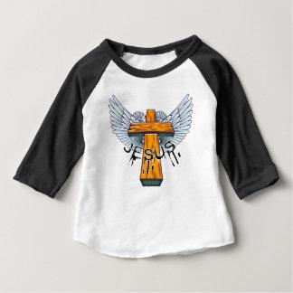 Camiseta Para Bebê Marque 15-17 uma coroa de espinhos na cabeça