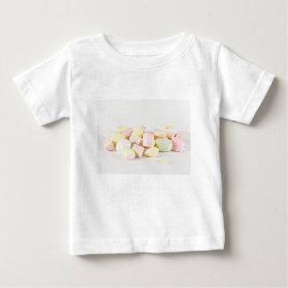 Camiseta Para Bebê Marshmallows dos doces