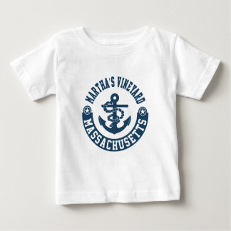 Camiseta Para Bebê Martha's Vineyard Massachusetts