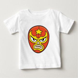 Camiseta Para Bebê Máscara 2 de Luchador