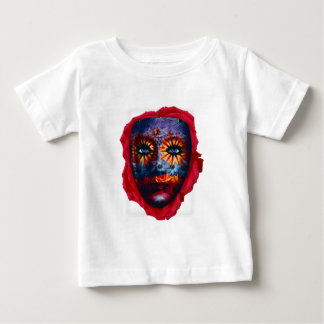 Camiseta Para Bebê Máscara Misteriosa - Mystery Mask