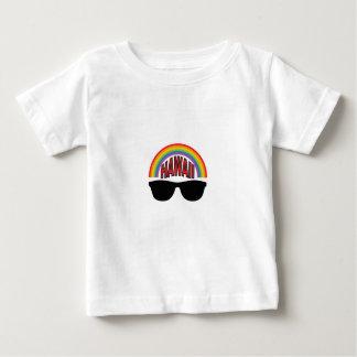 Camiseta Para Bebê máscaras vermelhas de Havaí