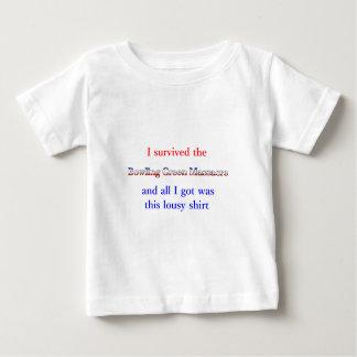 Camiseta Para Bebê massacre do bowling green engraçado