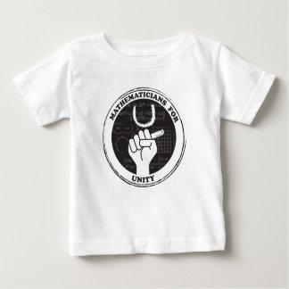 Camiseta Para Bebê Matemáticos para o t-shirt da unidade - bebê