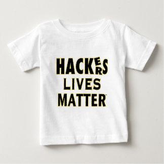 Camiseta Para Bebê MATÉRIA das VIDAS dos cabouqueiros (YaWNMoWeR)