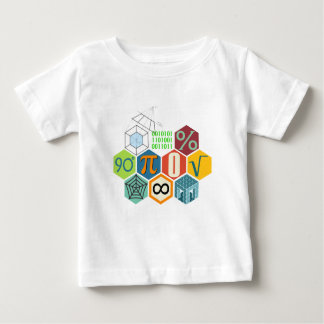 Camiseta Para Bebê maths
