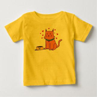 Camiseta Para Bebê Matt o T do bebê do gato