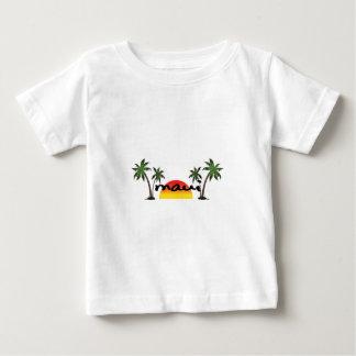 Camiseta Para Bebê Maui Havaí