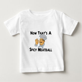 Camiseta Para Bebê Meatball picante