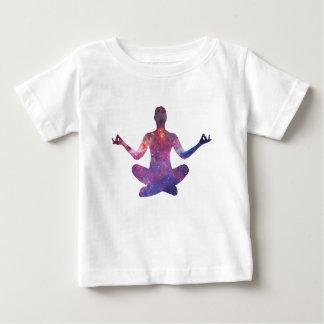 Camiseta Para Bebê Meditação