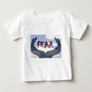 Camiseta Para Bebê Medo