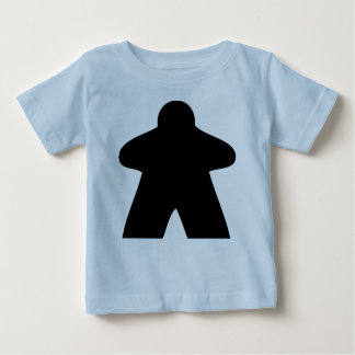 Camiseta Para Bebê Meeple baby