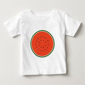 Camiseta Para Bebê melancia para dentro