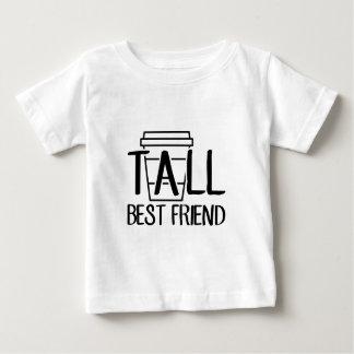 Camiseta Para Bebê Melhor amigo alto