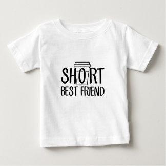 Camiseta Para Bebê Melhor amigo curto