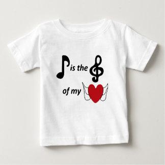 Camiseta Para Bebê melómano