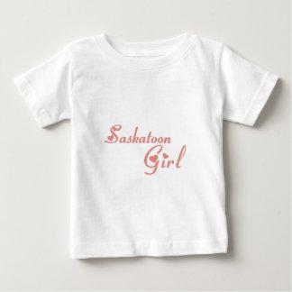 Camiseta Para Bebê Menina de Saskatoon