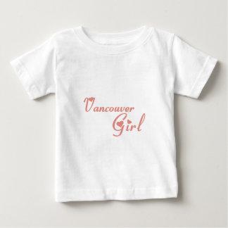 Camiseta Para Bebê Menina de Vancôver